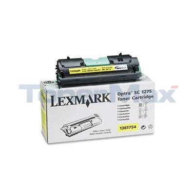 LEXMARK OPTRA SC 1275 TONER CART YELLOW